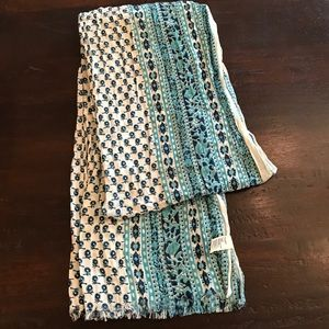 NWOT American Eagle Outfitters Blue Print Scarf